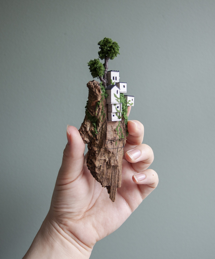 Miniature Landscapes by Rosa de Jong