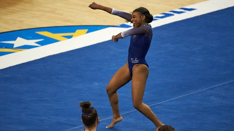 Nia Dennis Celebrates Black Culture With Gymnastics Routine