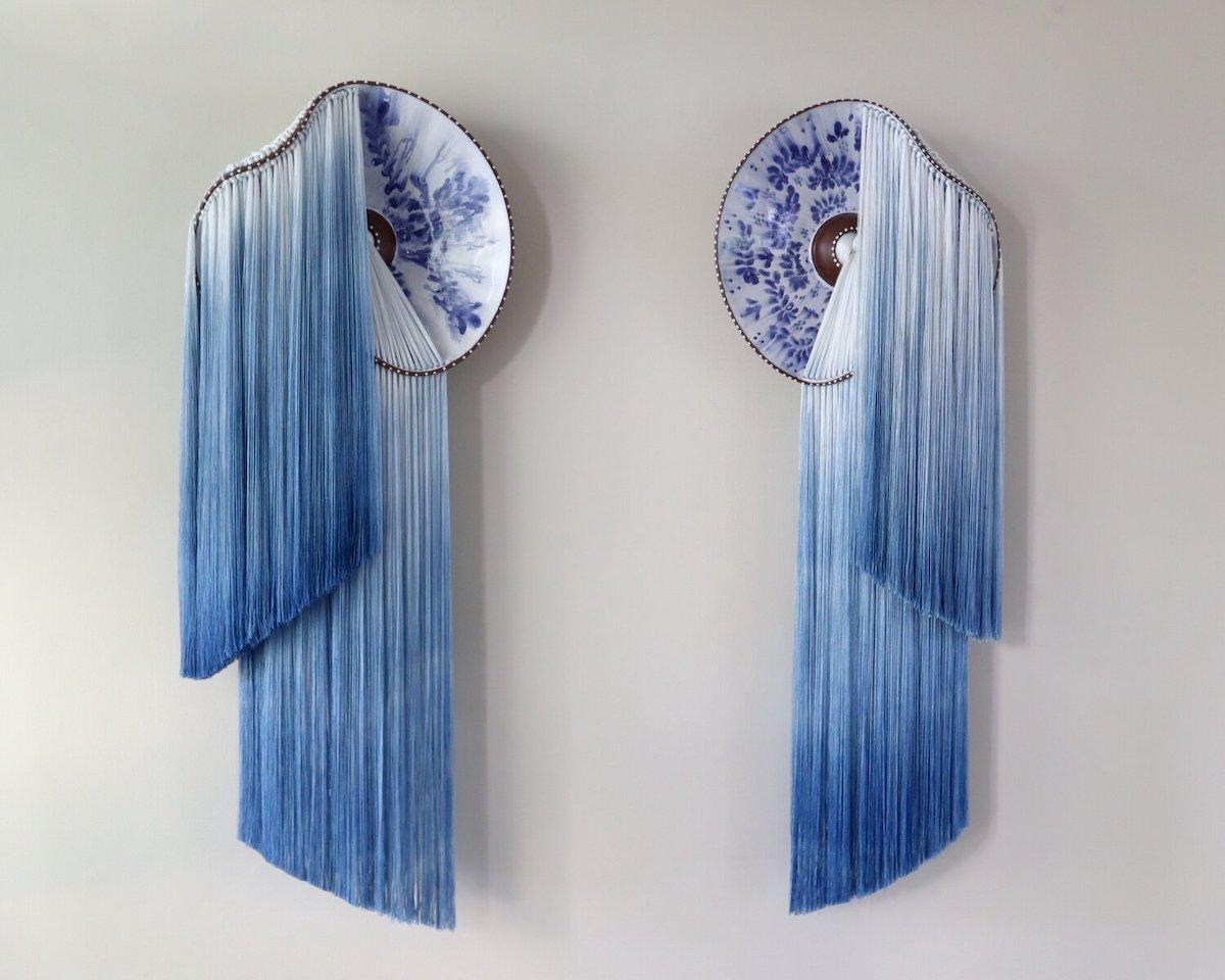 Nicole McLaughlin Ceramic and Fiber Installation