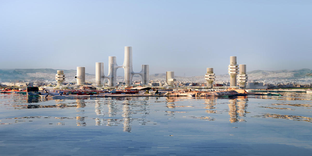 Architects Propose 10 Futuristic Towers to Revitalize the Greek City of Thessaloniki