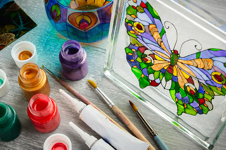 Stained Glass At Home Supplies Craft