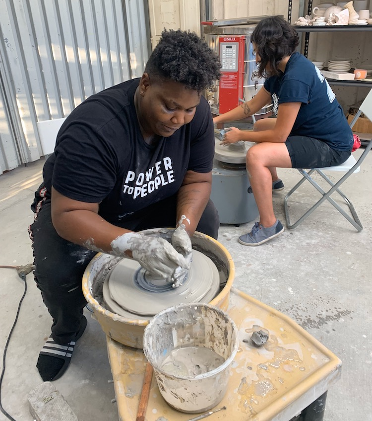 People's Pottery Project Ceramic Wheel Classes