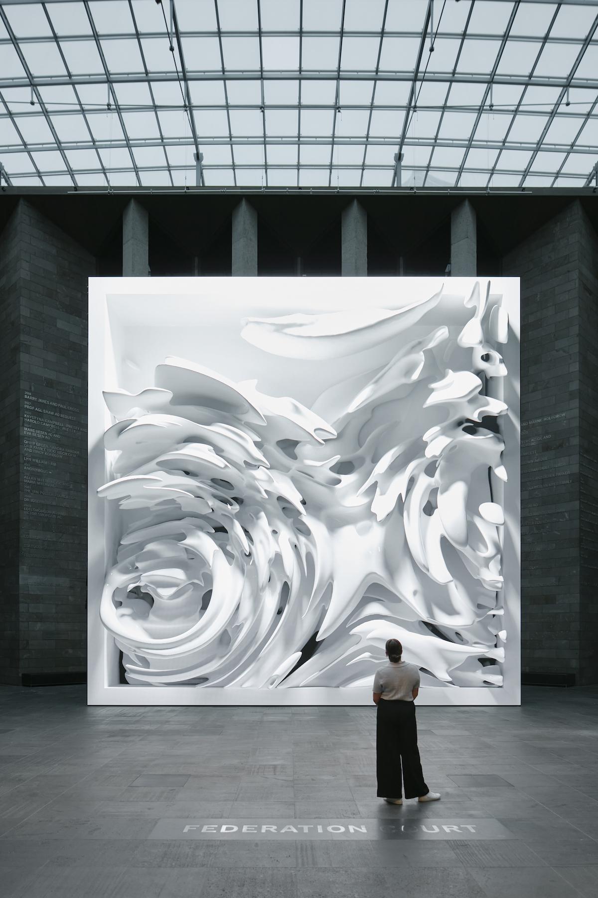 Digital Artist Refik Anadol Creates 'Quantum Memories' for the NGV Triennial