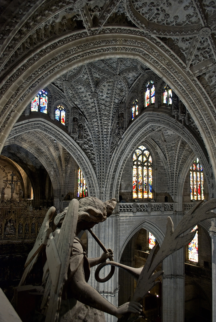 Interior of Seville Cathedral