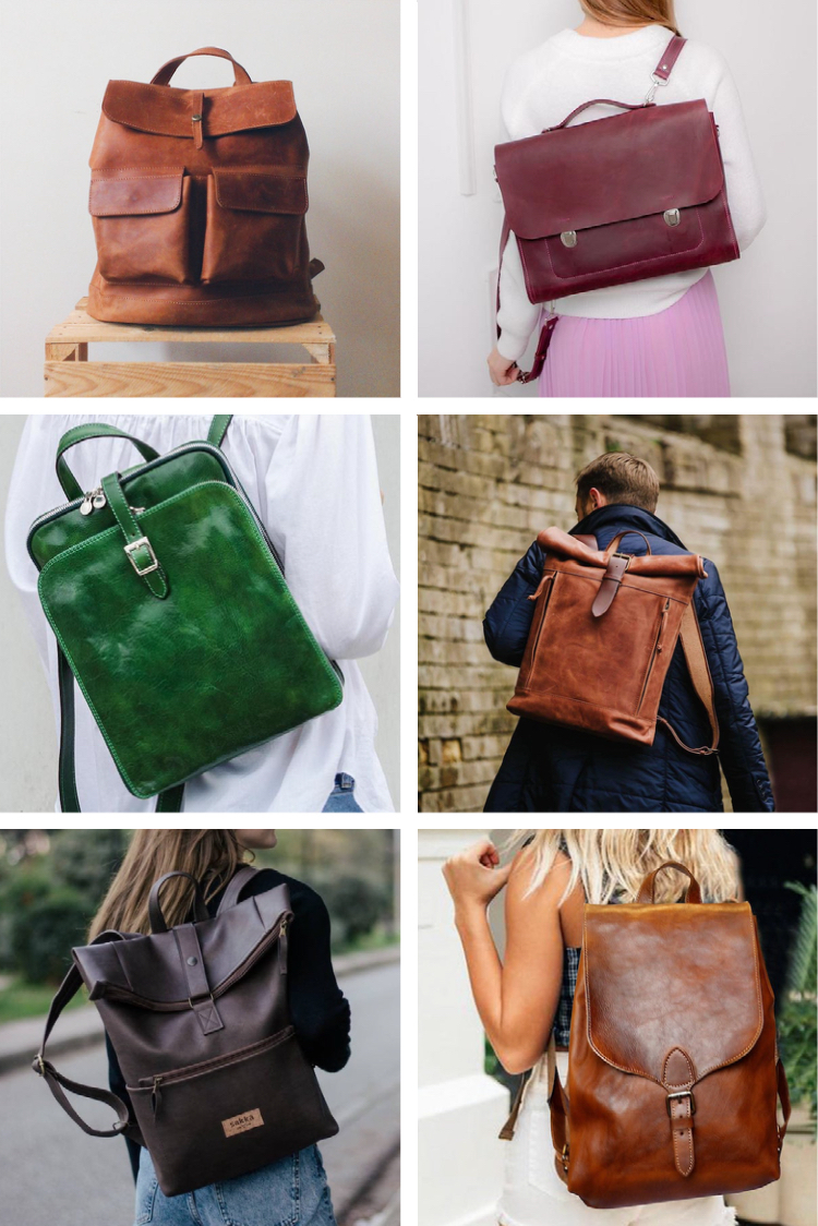 23 Handmade Leather Backpacks That Are Stylish for Any Occasion