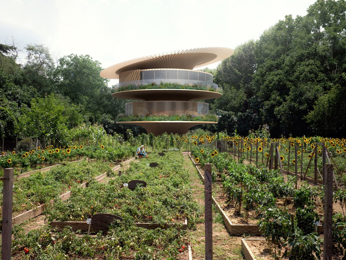 Architect Designs a Sunflower House Where 'Form Follows Nature'