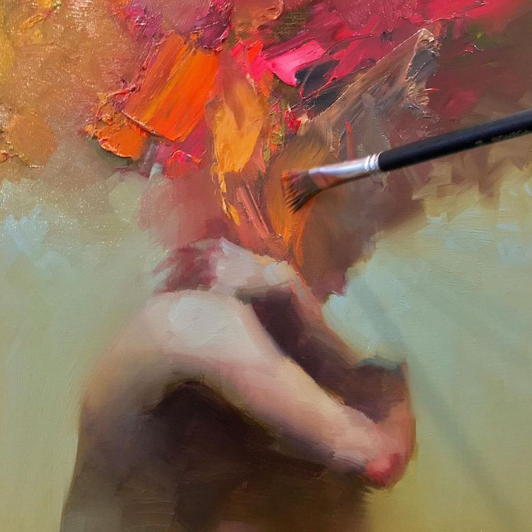 Abstract Portraits by Taeil Kim