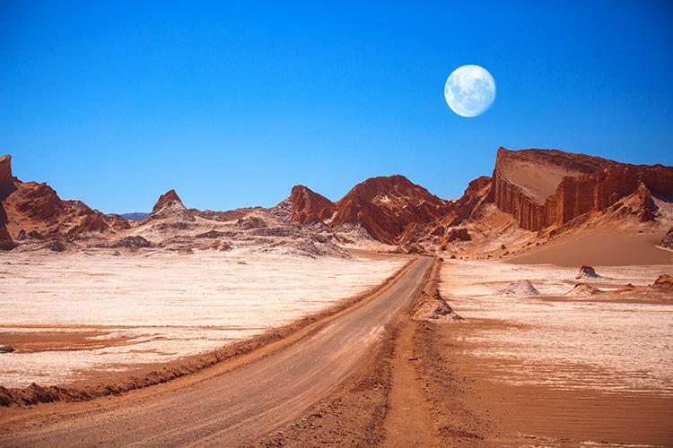 Moon Valley Atacama Desert Chile