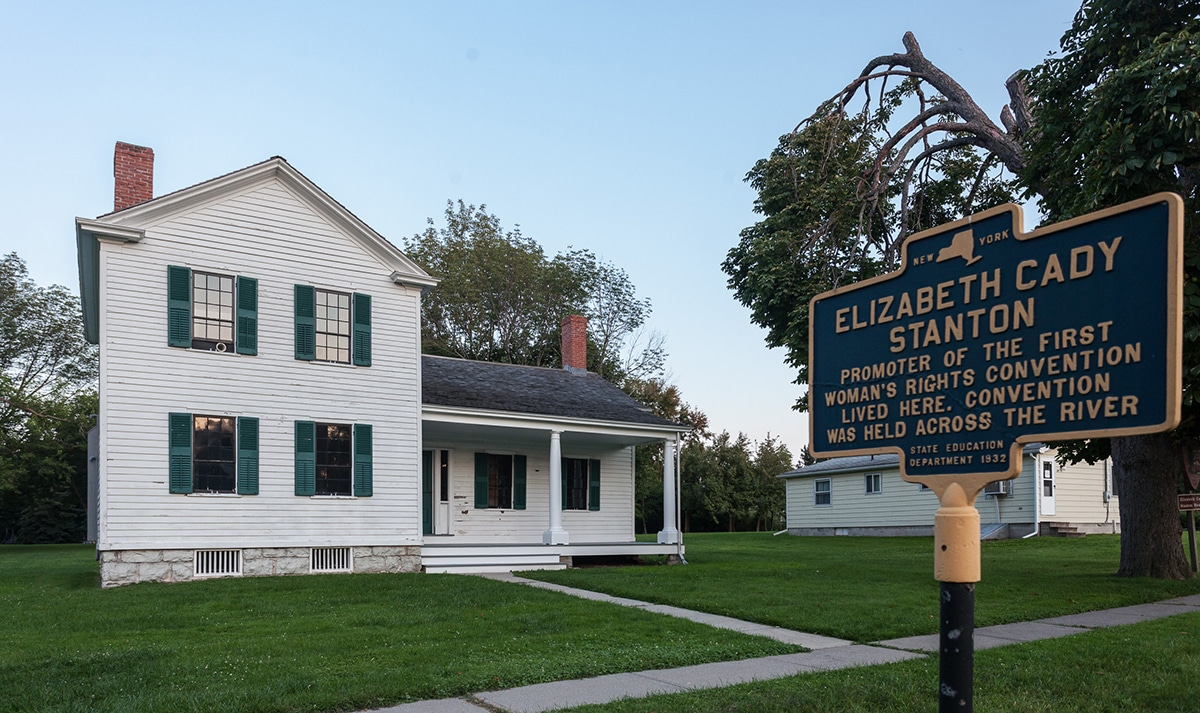 Elizabeth Cady Stanton House Women's Rights National Historic Park