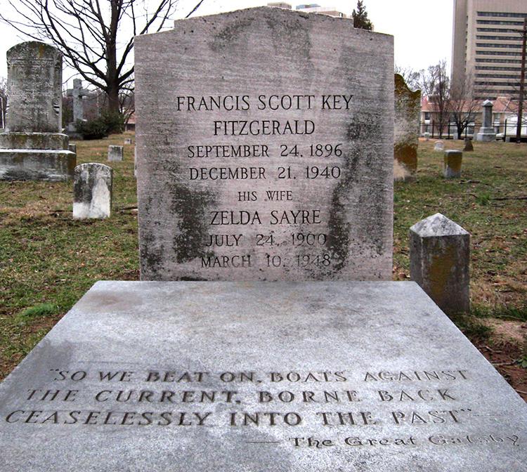 F. Scott Fitzgerald and Zelda Fitzgerald Grave