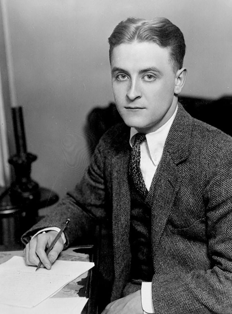 F. Scott Fitzgerald, autor de El gran Gatsby