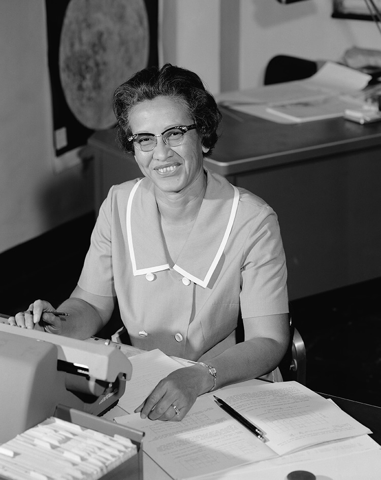 S.S. Katherine Johnson A New Spacecraft Named After Legendary Black NASA Mathematician