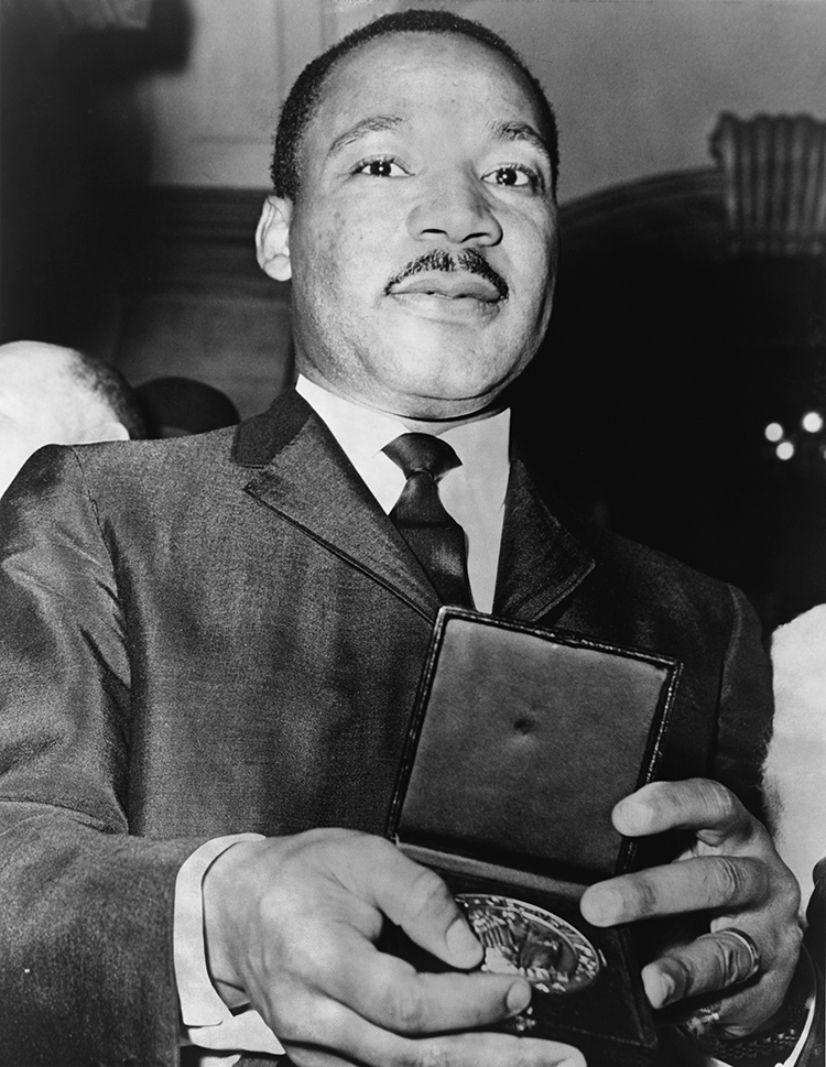 Martin Luther King Jr. Nobel Peace Prize 1964