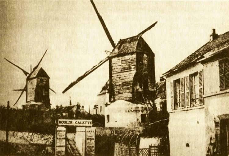 Moulin de la Galette Windmill Montmartre