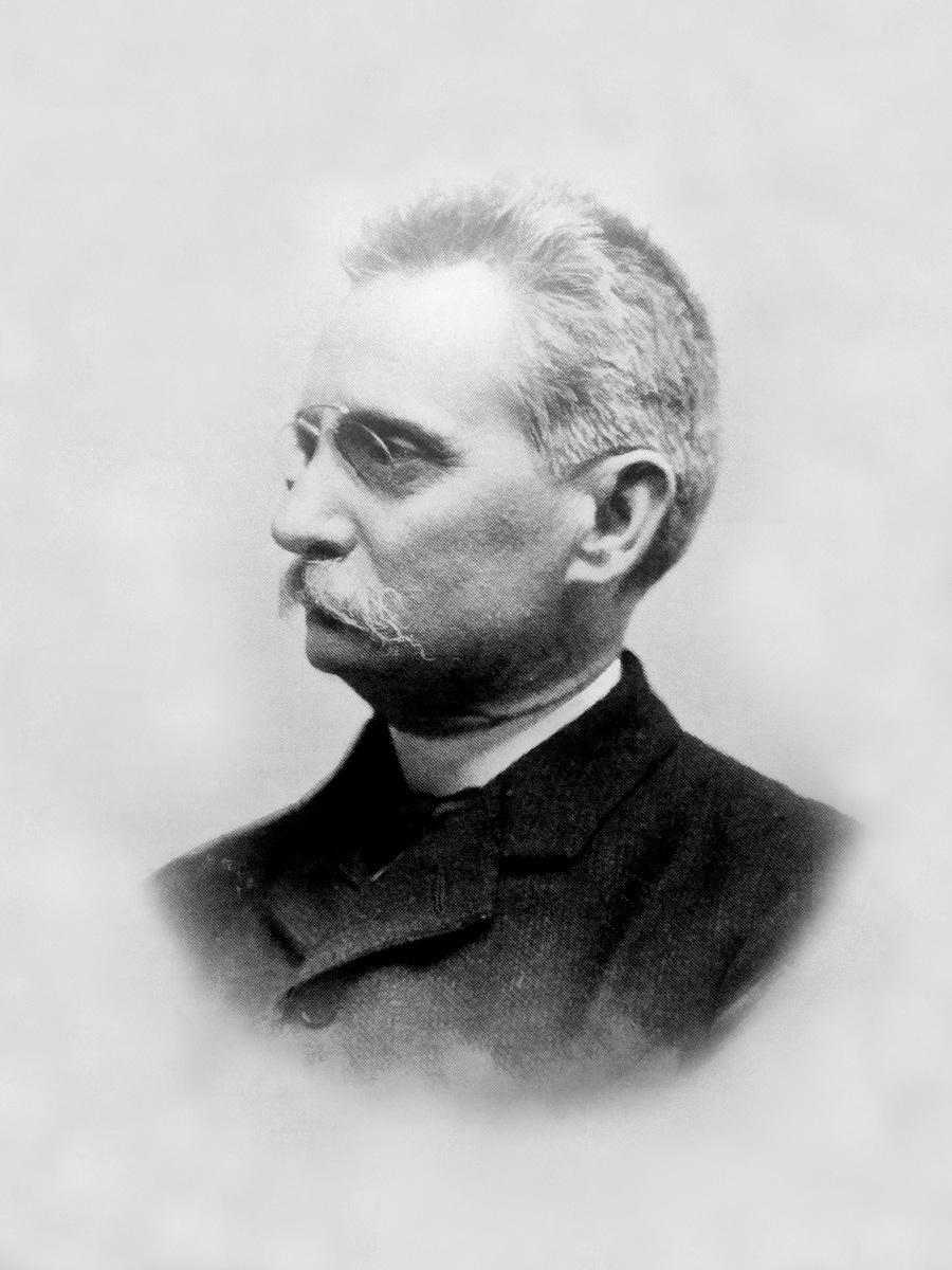 El arquitecto Lluís Domènech i Montaner en 1915