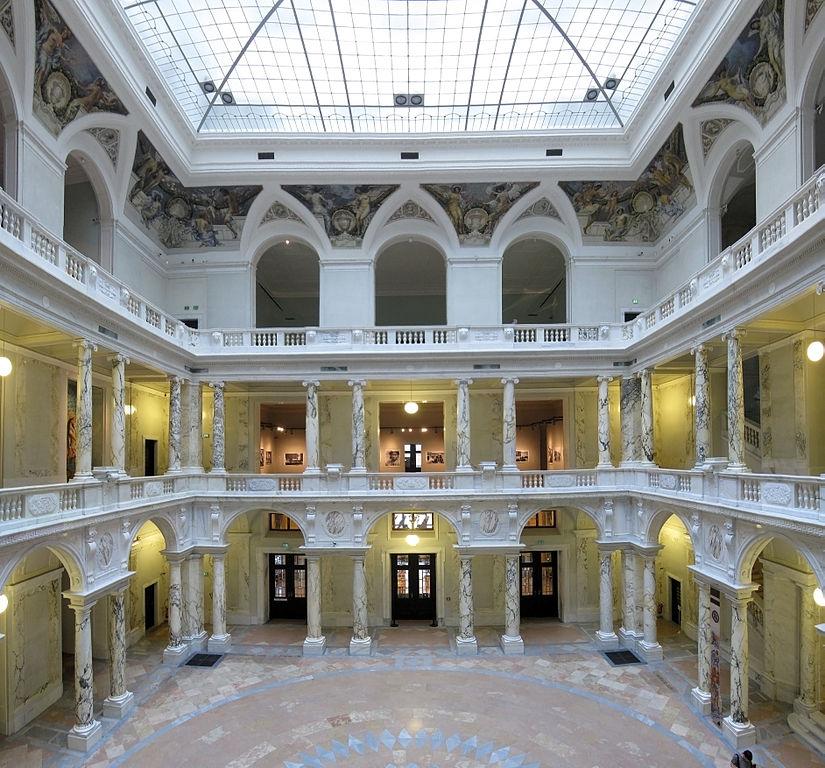 Interior del Museo de Etnología de Viena