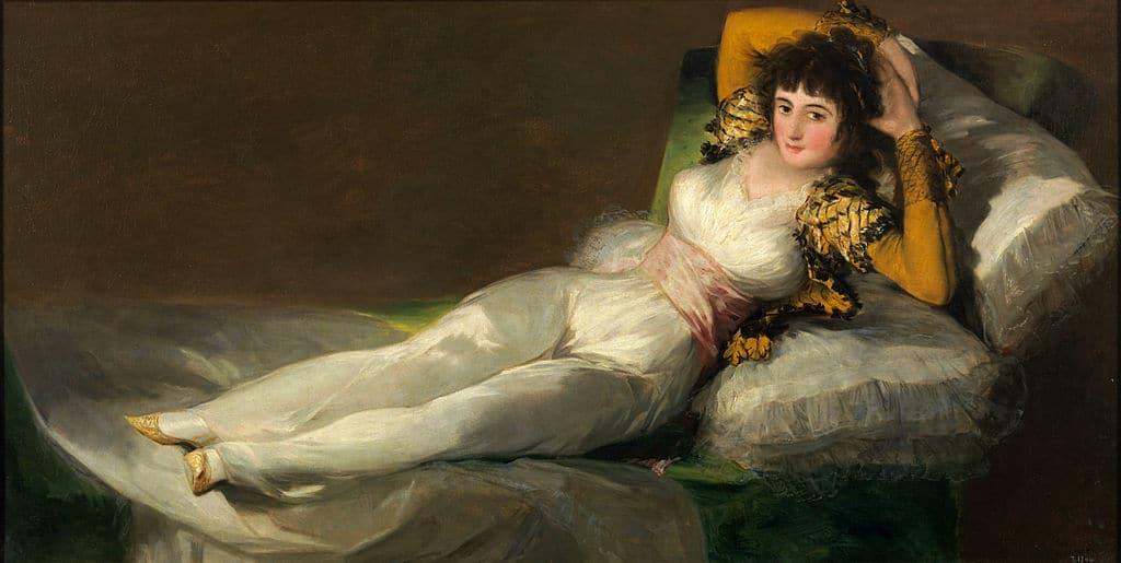 La maja vestida de Francisco de Goya