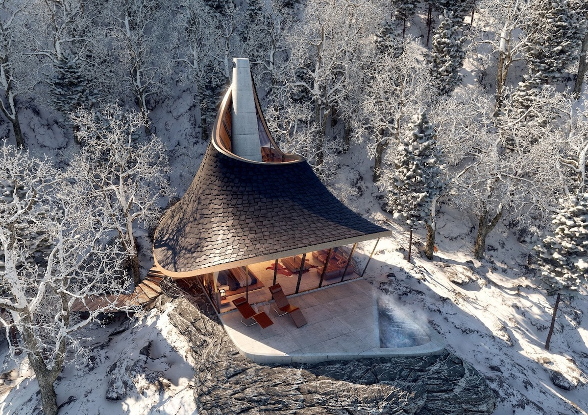 This Unique Hokkaido Retreat Was Designed Using an Algorithm
