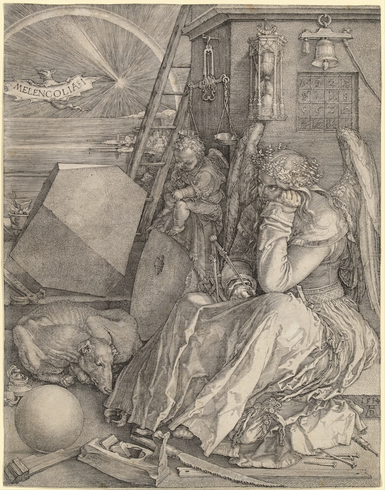 Melencolia I by Albrecht Durer