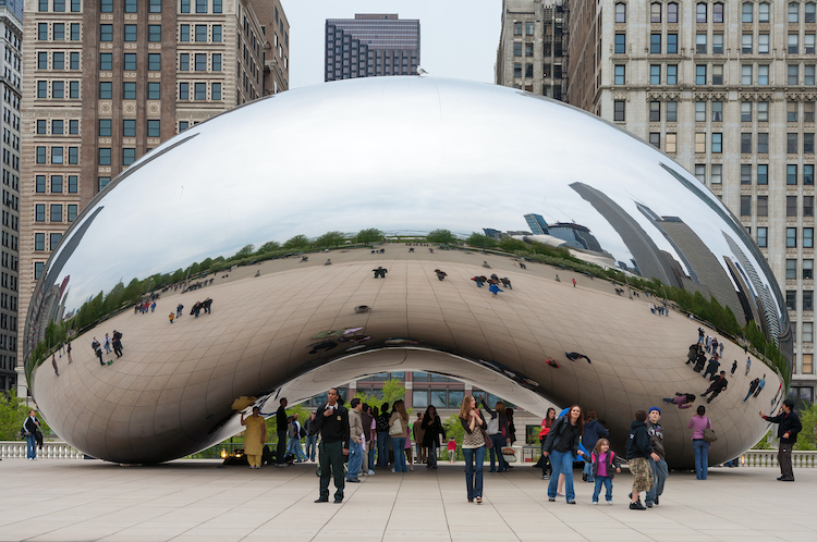 Anish Kapoor Cloud Gate