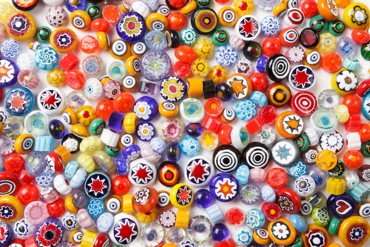 Colorful Collection of Beads