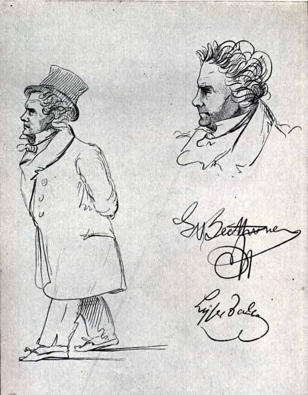 Beethoven Caricaturas