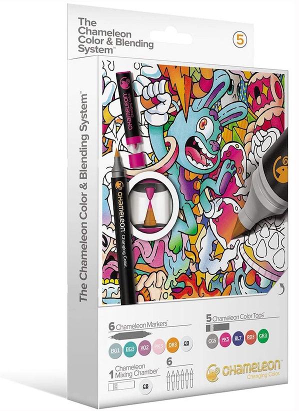 Chameleon Color & Blending System - Set Complémentaire de Couleurs Pastel