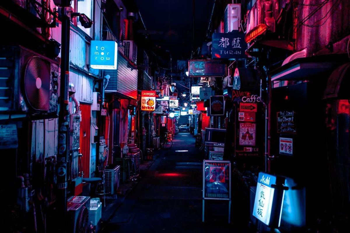 Aishy Photographer Tokyo Cyberpunk Nights