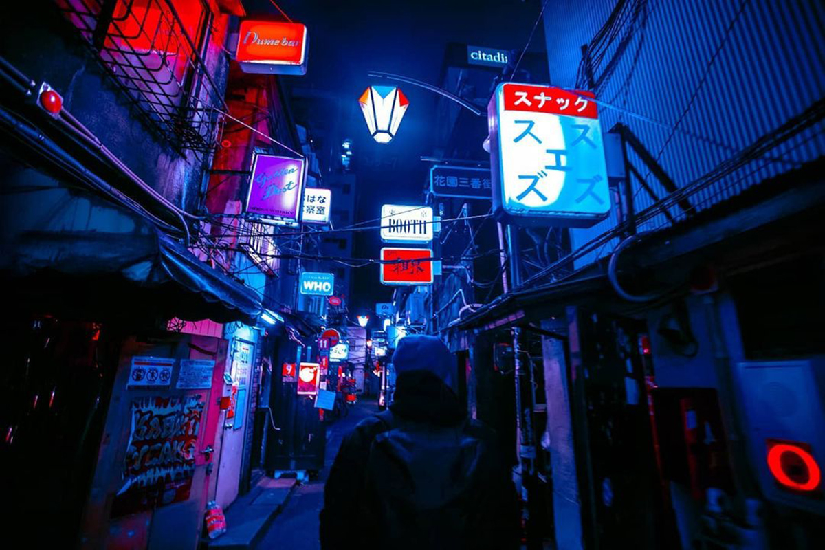 Night in Tokyo Photography