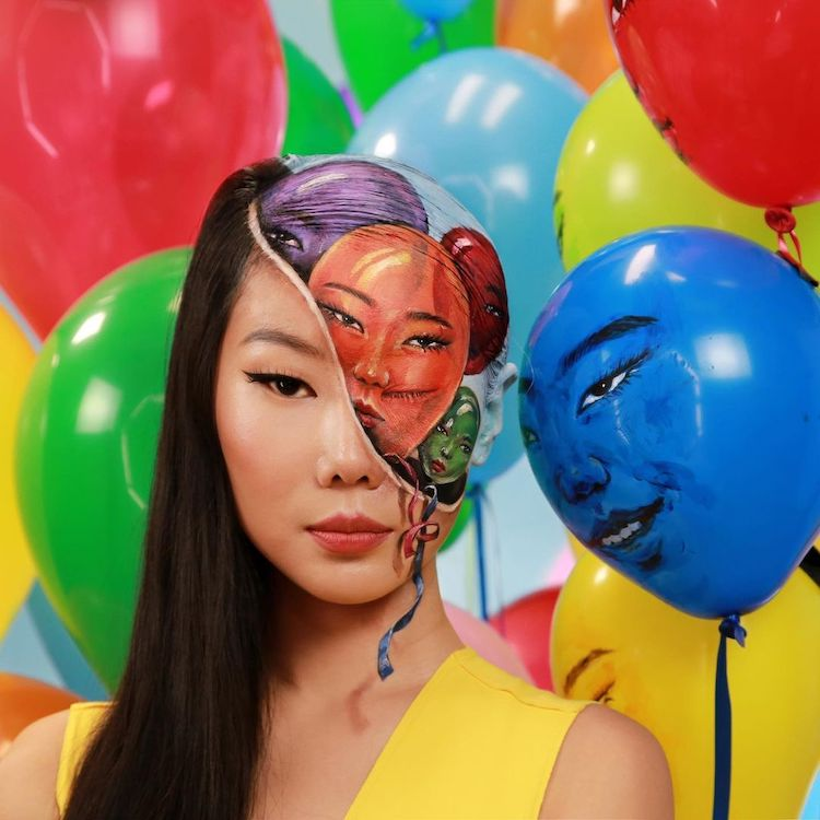 Optical Illusion Body Art by Dain Yoon