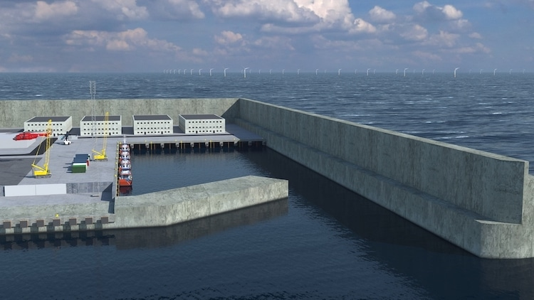 Denmark Is Building the World's First Artificial Island Designed as an Energy Hub