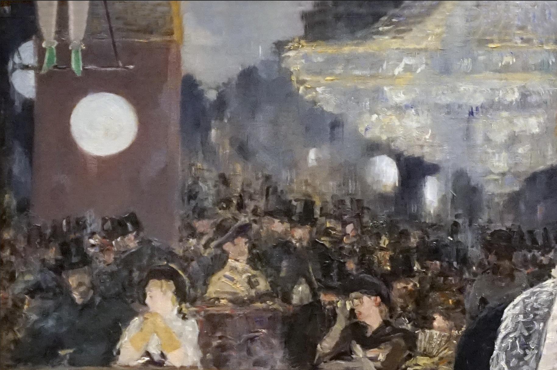 Un bar del Folies Bergere de Edouard Manet