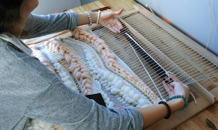 Person Weaving