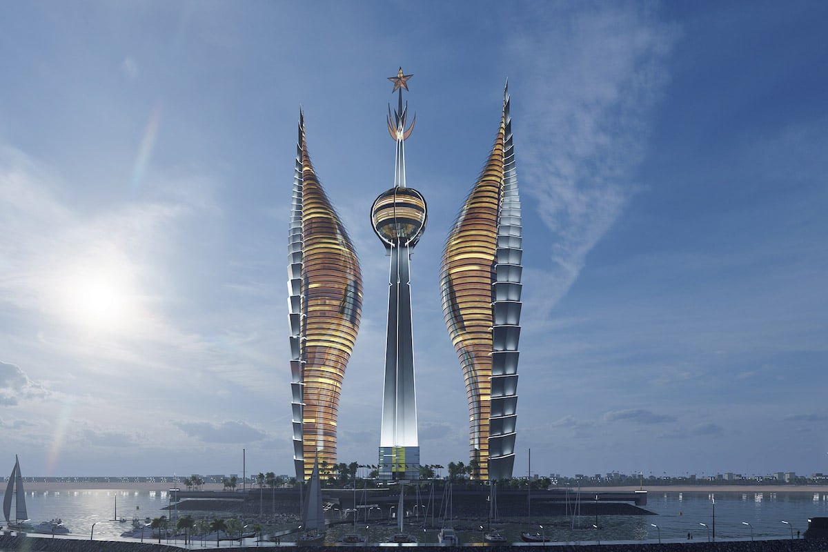 These Symbolic Towers Would Be the Tallest Buildings in Africa