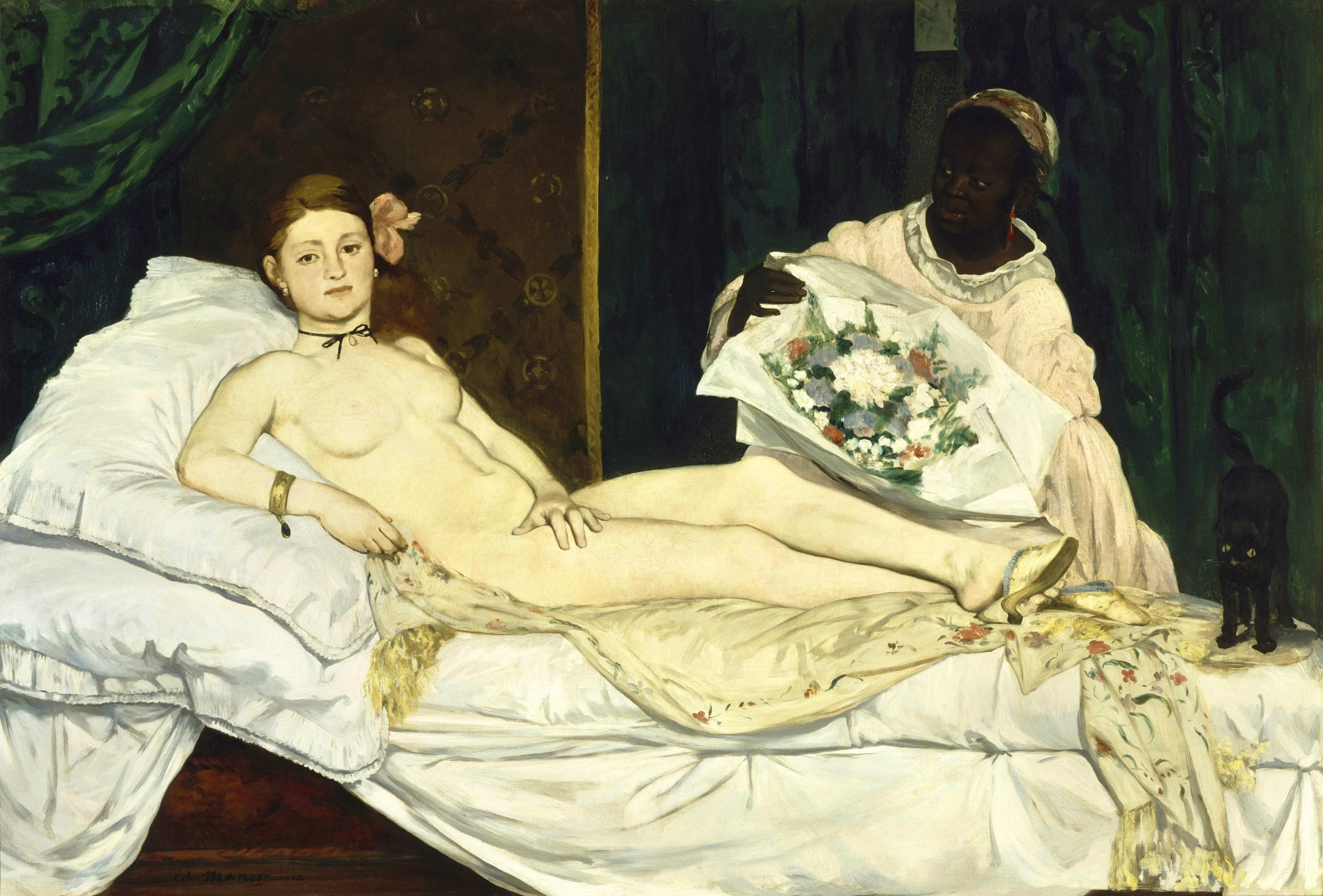 Olympia por Edouard Manet