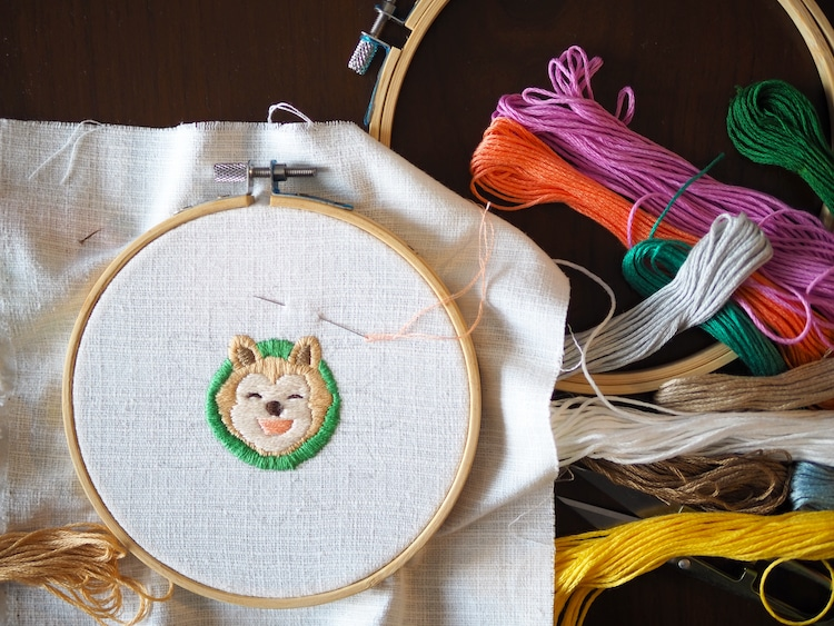 Dog Embroidery