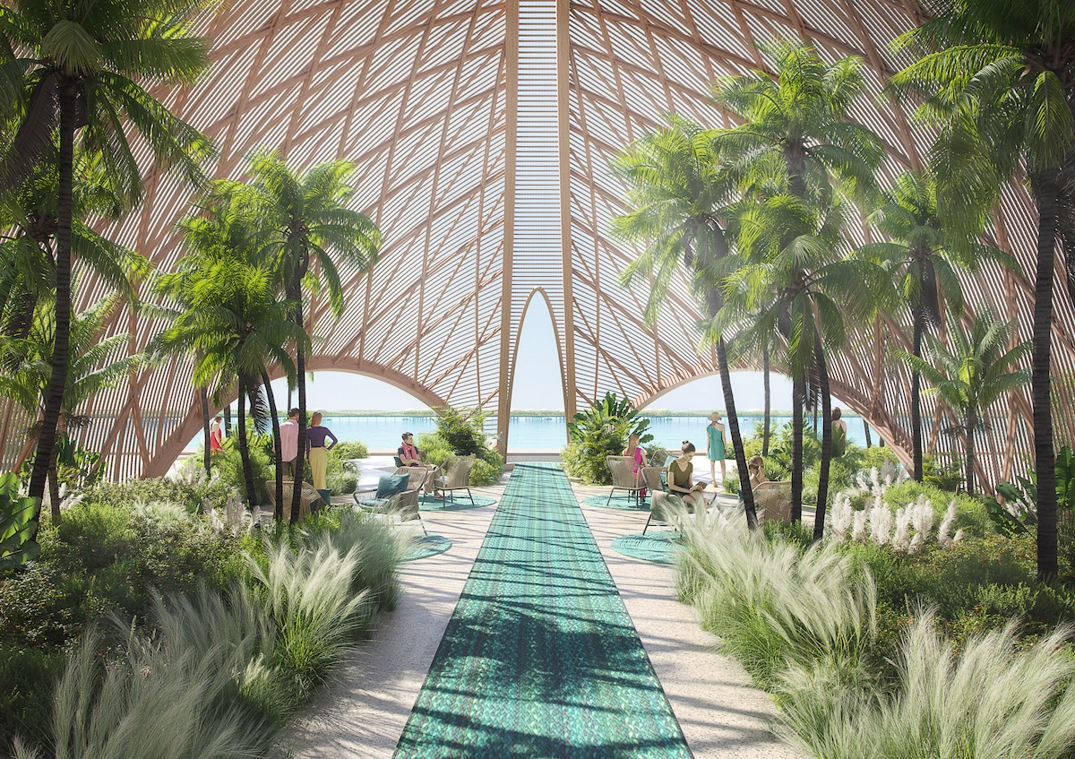 Foster + Partner Has Designed a Circular Hotel on the Red Sea