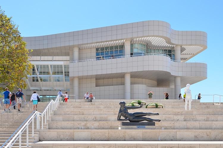 The Getty Center J. Paul Gett Museum LA