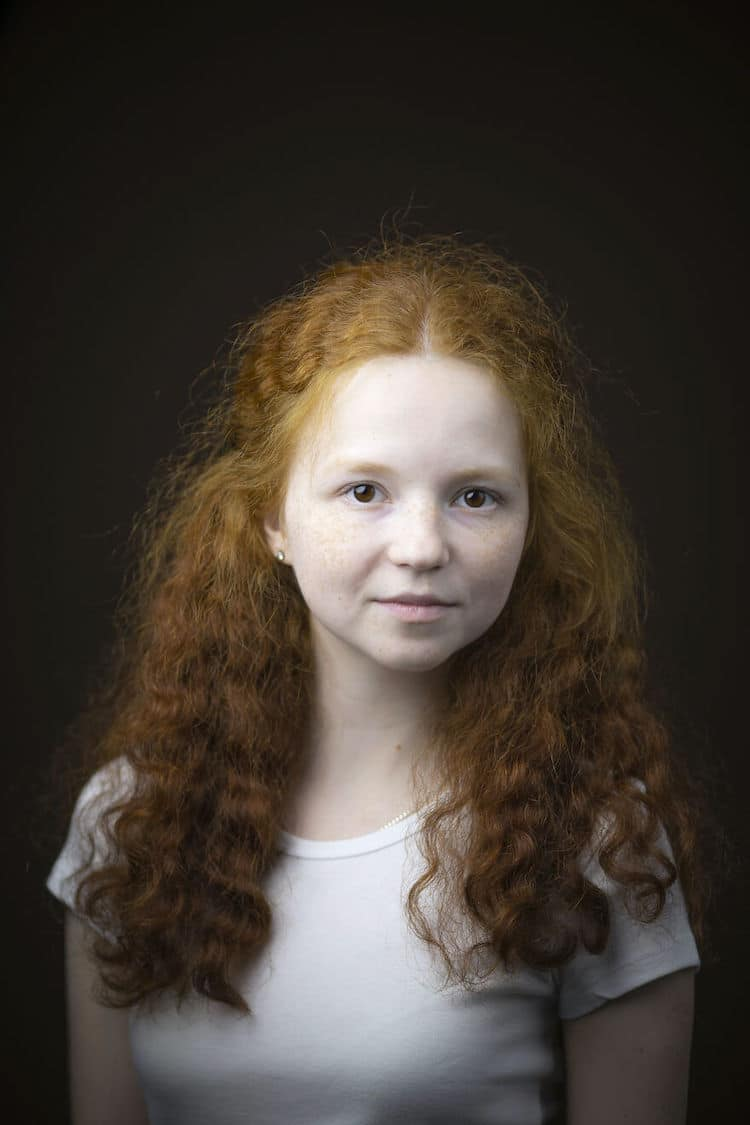 Gingers Portrait Series by Kieran Dodds