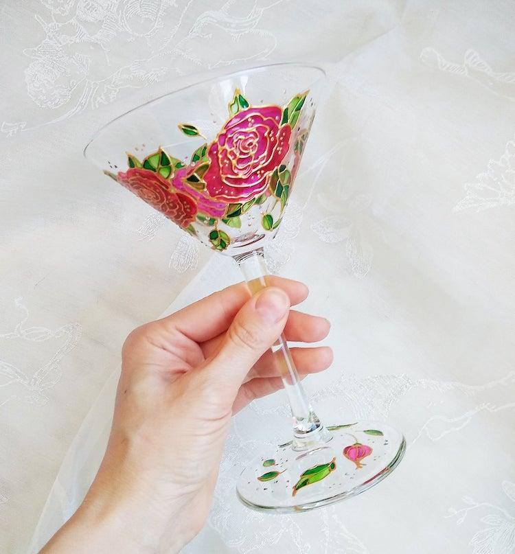 Hand-Painted Glass by ArtMasha