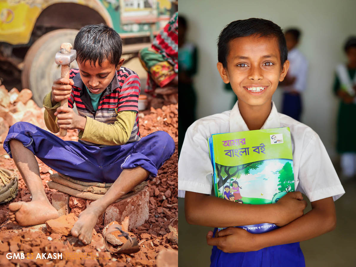 Child Laborers Now Going to School