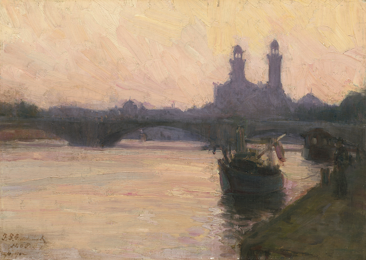 The Seine: A Painting by Henry Ossawa Tanner