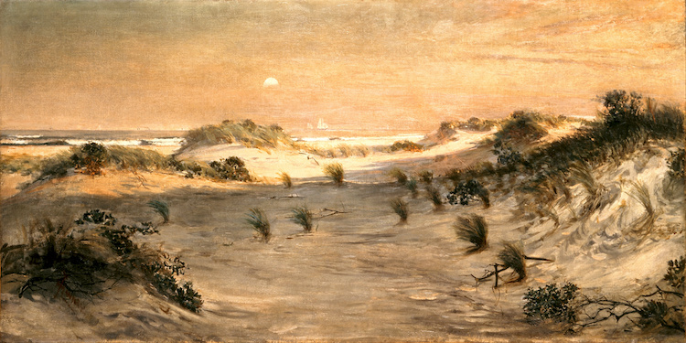Sand Dunes at Sunset, Atlantic City: A Painting by Henry Ossawa Tanner