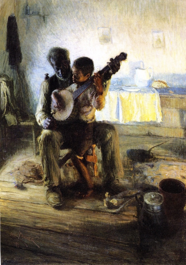 The Banjo Lesson: A Painting by Henry Ossawa Tanner