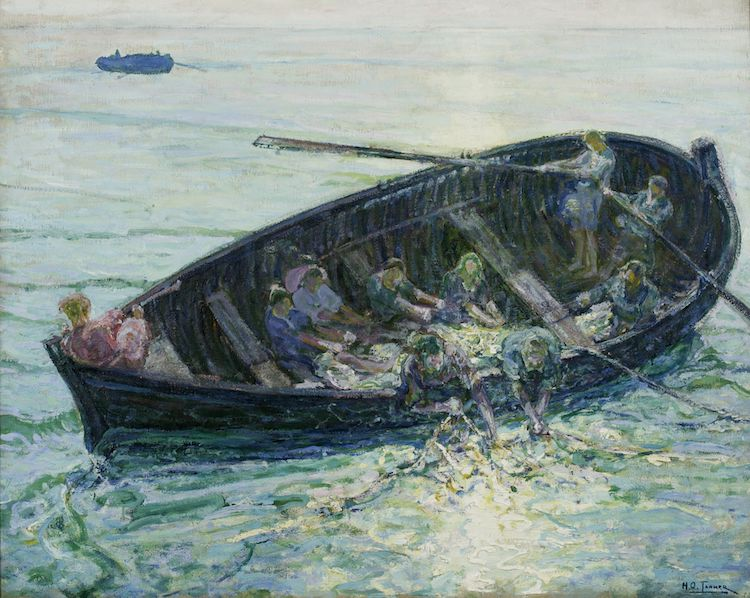 The Miraculous Haul of Fishes by Henry Ossawa Tanner