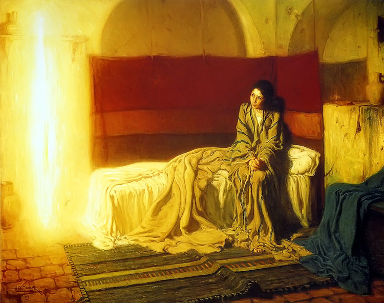 The Annunciation by Henry Ossawa Tanner
