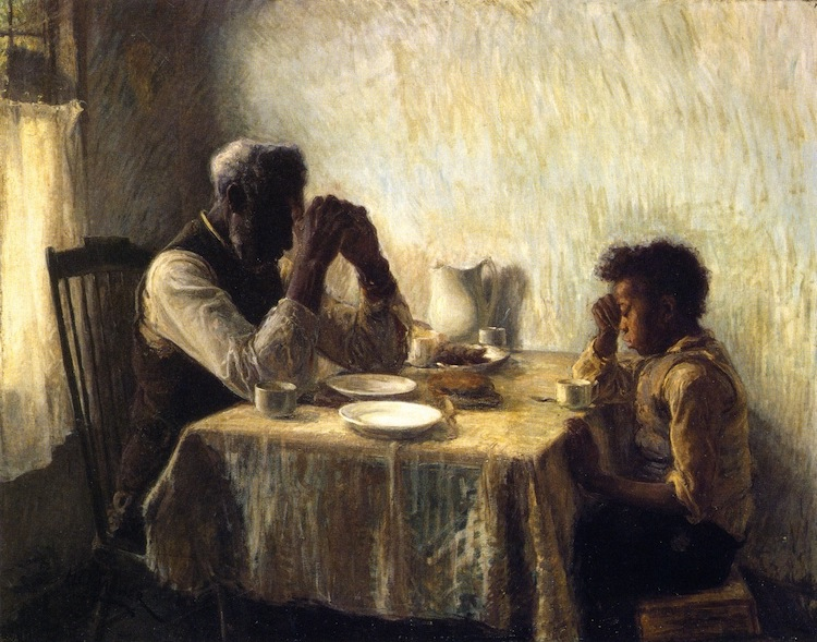 The Thankful Poor: A Painting by Henry Ossawa Tanner