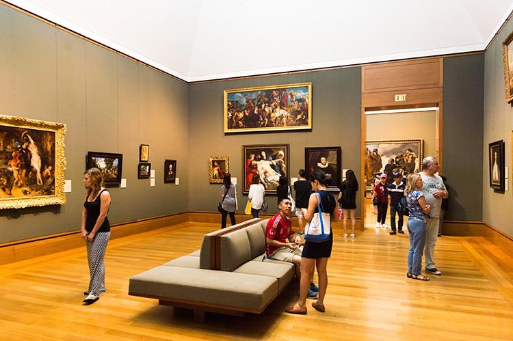 Inside Galleries Getty Museum