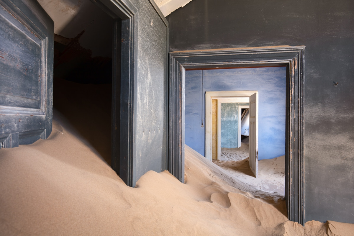 "James Kerwin Fine Art Photography ""Uninhabited"" Ghost Town"