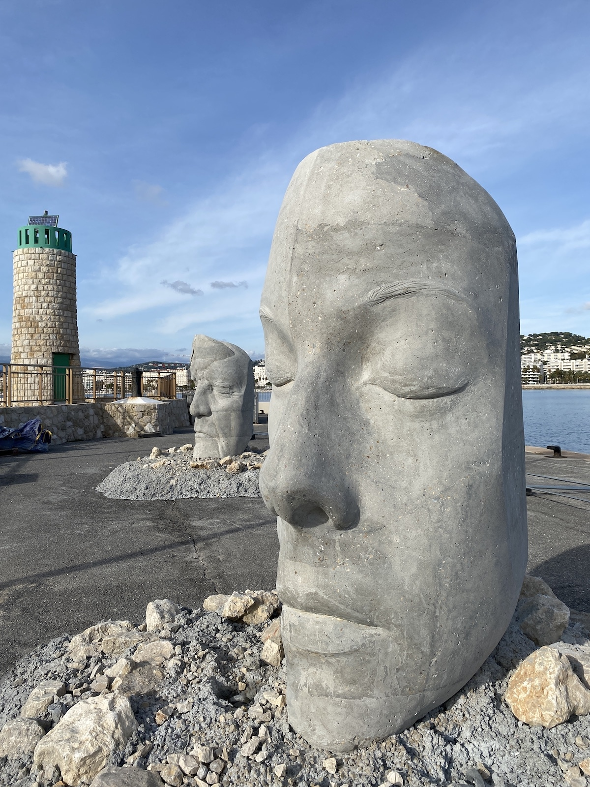 Jason deCaires Taylor's Cannes Underwater Museum Features Monumental Submerged Masks